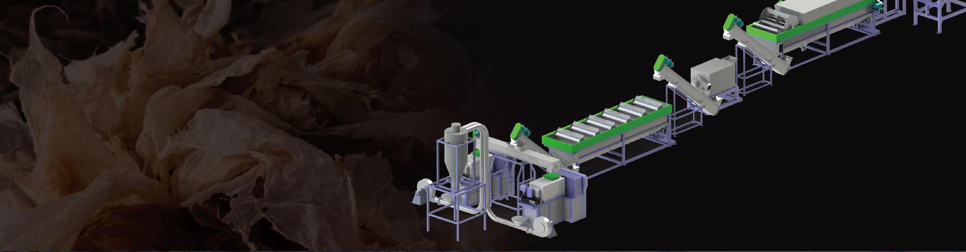 Plastic Film Recycling Washing Line
