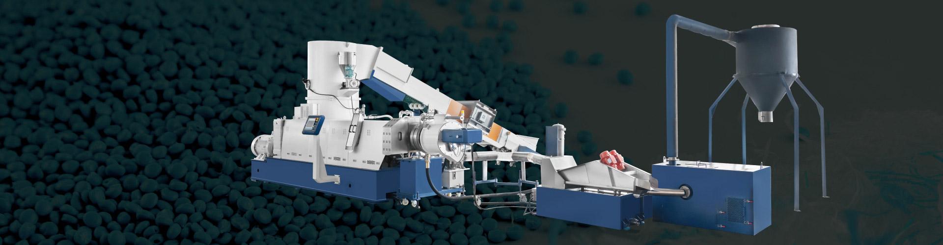 Cutter Compactor Pelletizing Line