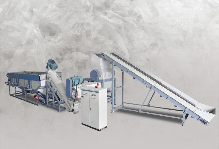 Waste Plastic Film Recycling Washing Line