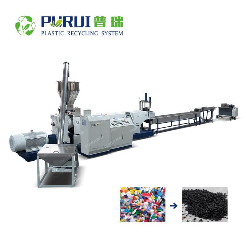 ABS PC PP Rigid Material Granulating Machine