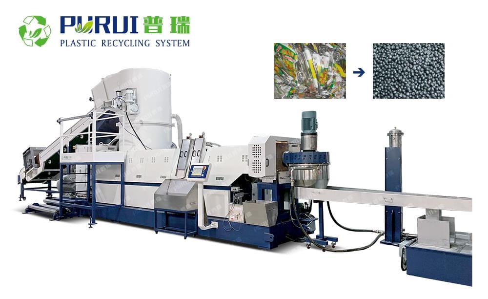 BOPP Films Recycling Granulating Line