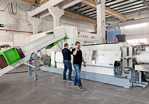 Poland – Plastic Film Pelletizing Line