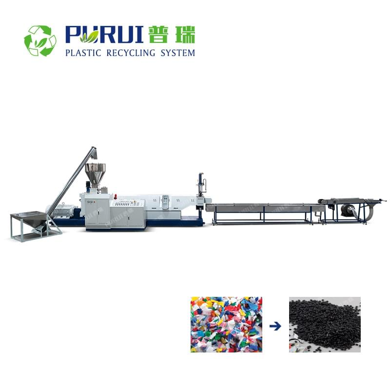PP PC ABS Regrind Plastic Granulating Line