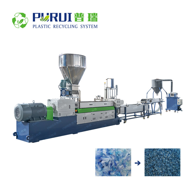 Twin Screw Compounding Extruder