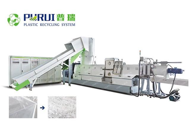 Plastic Film Granulation Machine