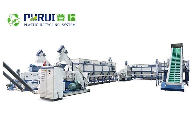 Waste Agricultural Film Washing Line