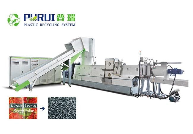 Heavy Printing Film Pelletizing Machine