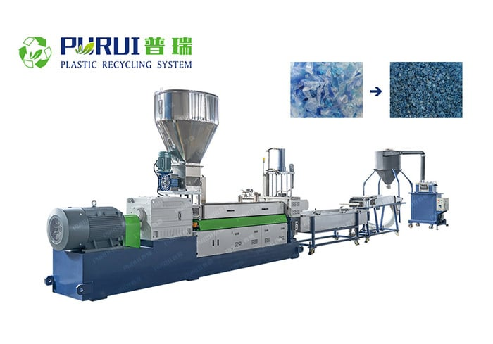 PET Bottle Recycling Granulating System