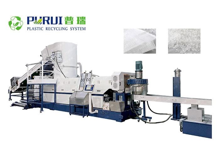 Woven Bag Recycling Granulating Machine