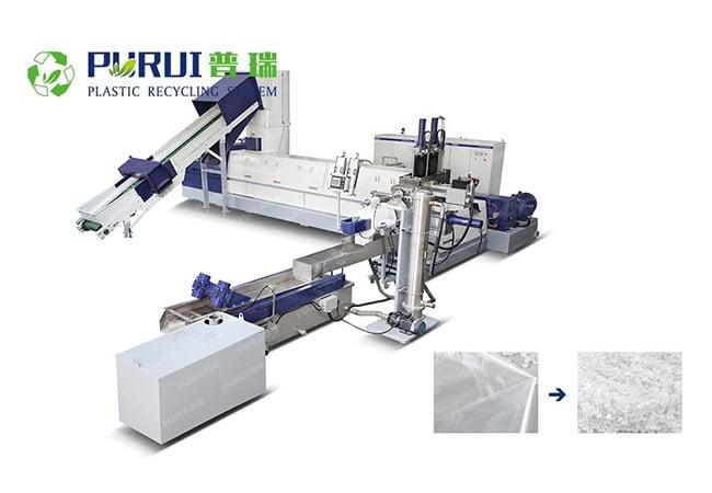 LLDPE Stretch Film Granulation Line