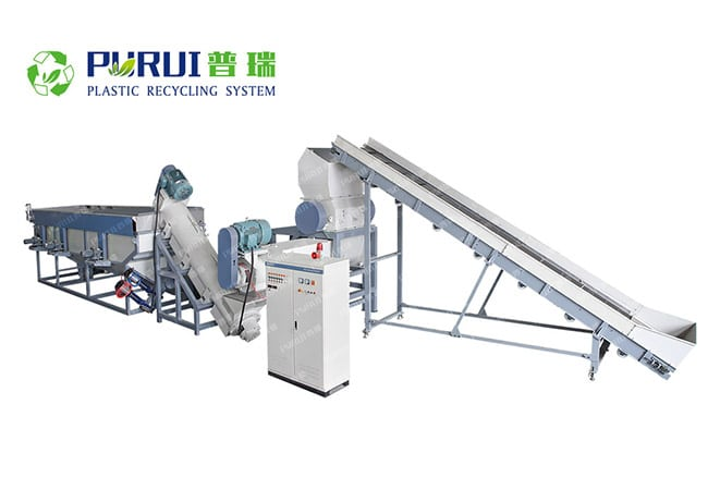 Agricultural Film Recycling Washing Line