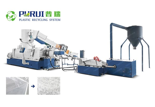 Plastic Film Granulation Production Line