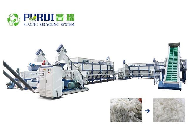 Plastic Film Recycling Machine