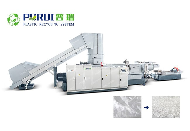 Plastic Pelletizing Recycling Machine