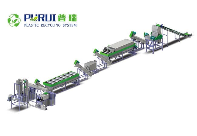 PP Woven Sack Recycling Washing Line